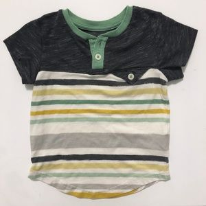 OshKosh B'gosh Baby Toddler Boy Striped Shirt 18 M